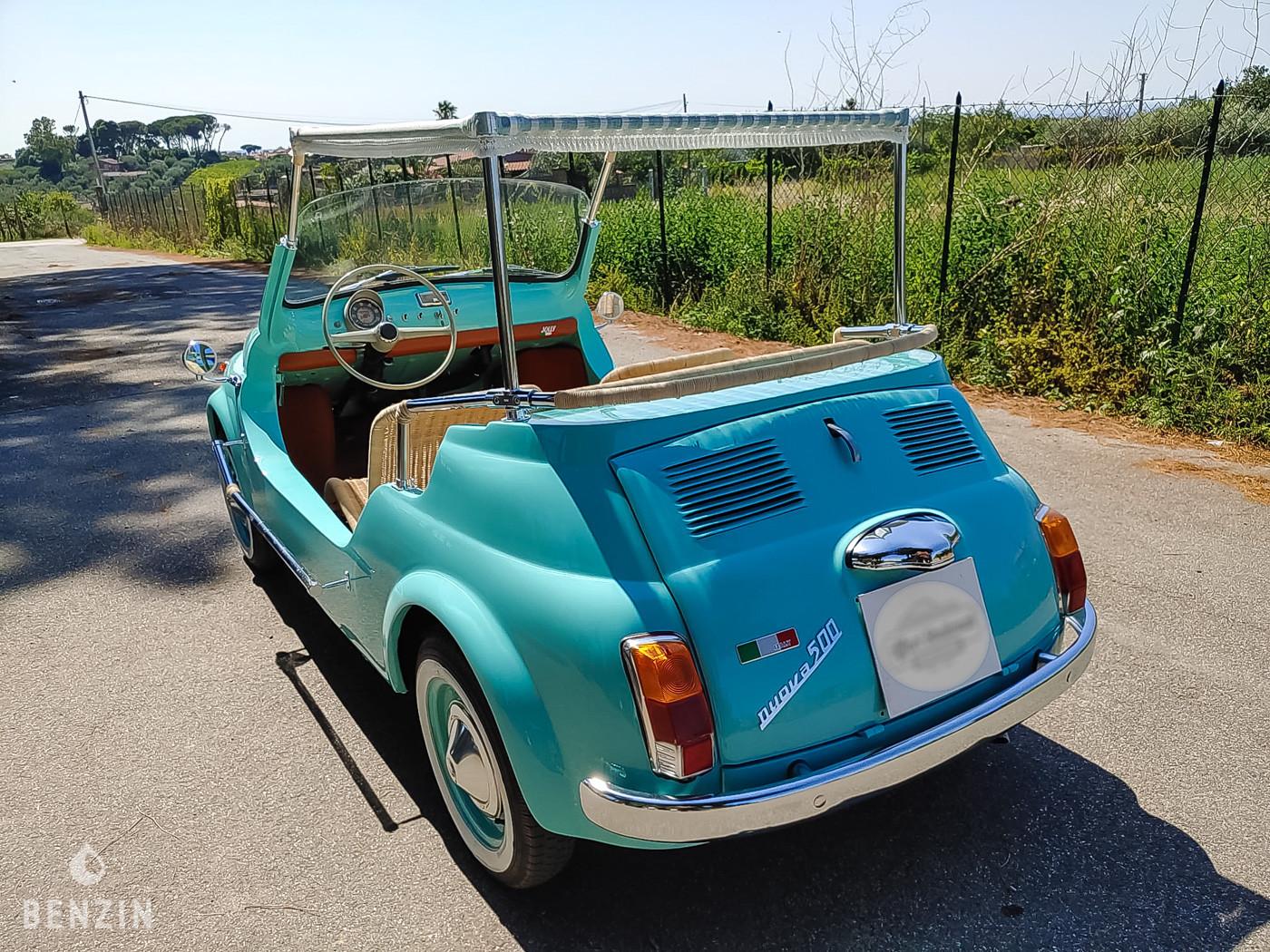 Fiat Jolly Spiaggina a vendre/ Fiat Jolly Spiaggina to sell/ Fiat Jolly Spiaginna verkaufen/ Fiat Jolly Spiaginna en venta