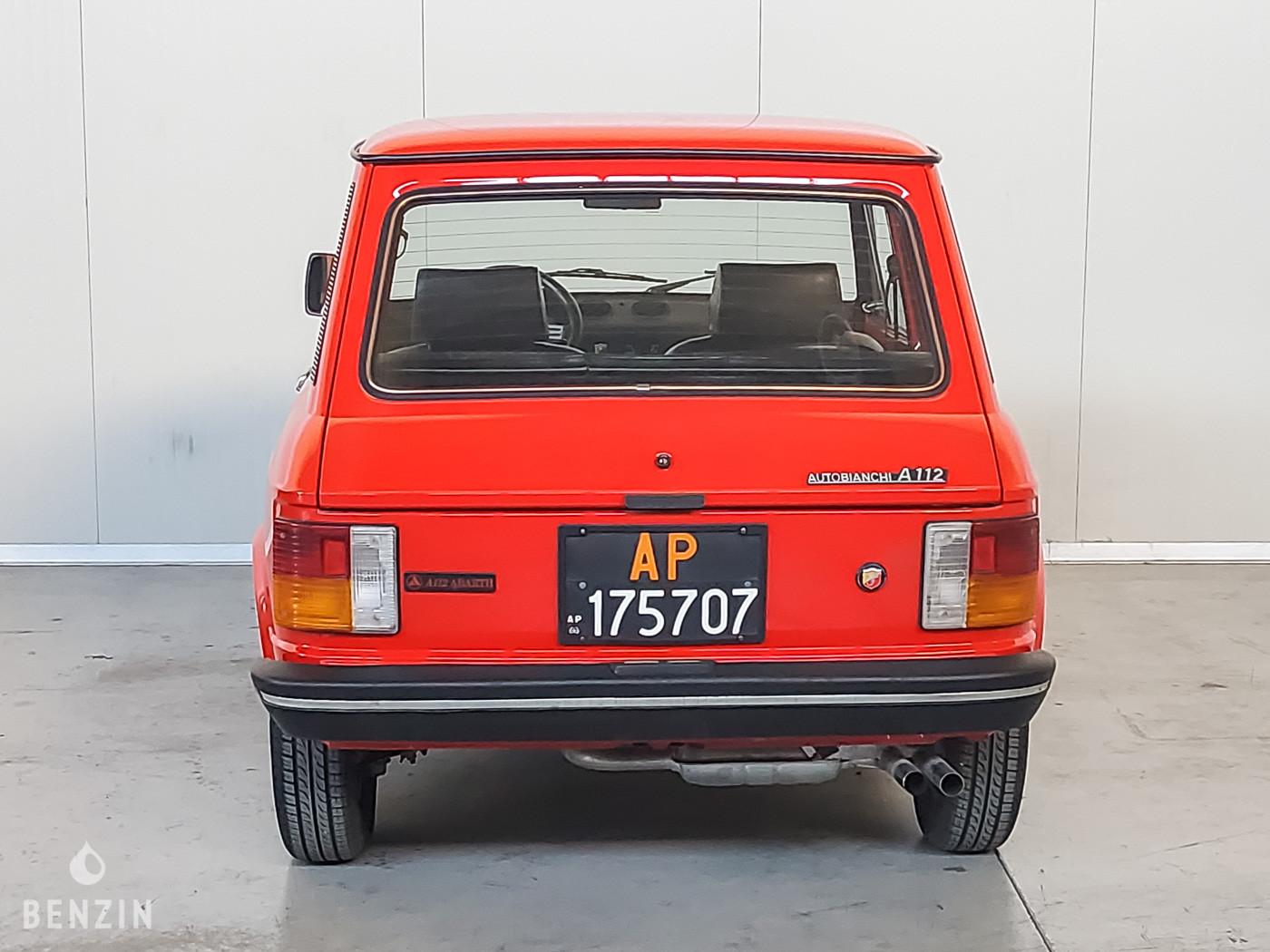 Autobianchi A112 abarth a vendre/ Autobianchi A112 abarth to sell/ Autobianchi A112 abarth verkaufen/ Autobianchi A112 abarth en venta
