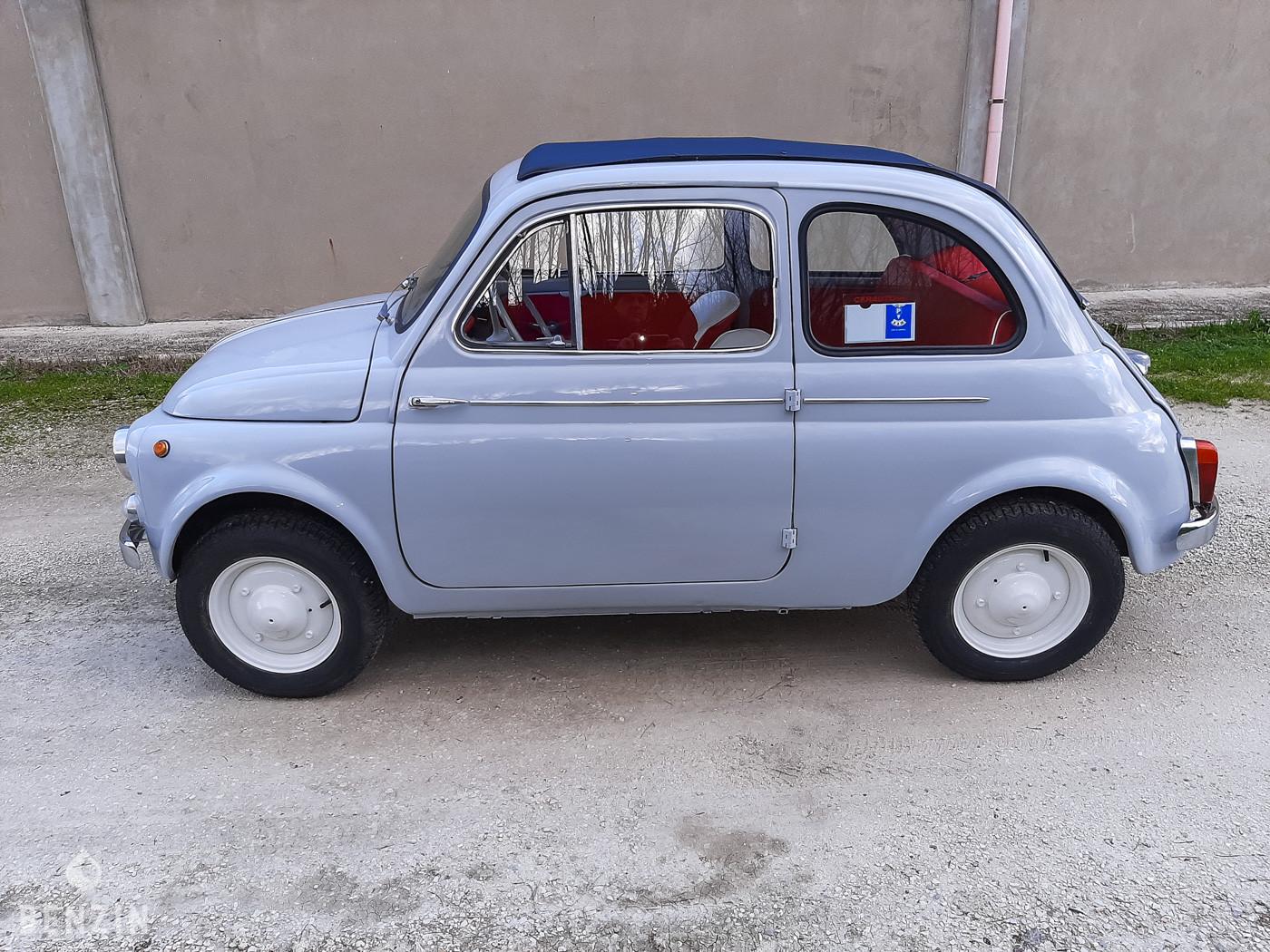 FIAT 500 D OCCASION A VENDRE FOR SALE EN VENTA IN VENDITA FOR SALE ZU VERKAUFEN TE KOOP - 1961
