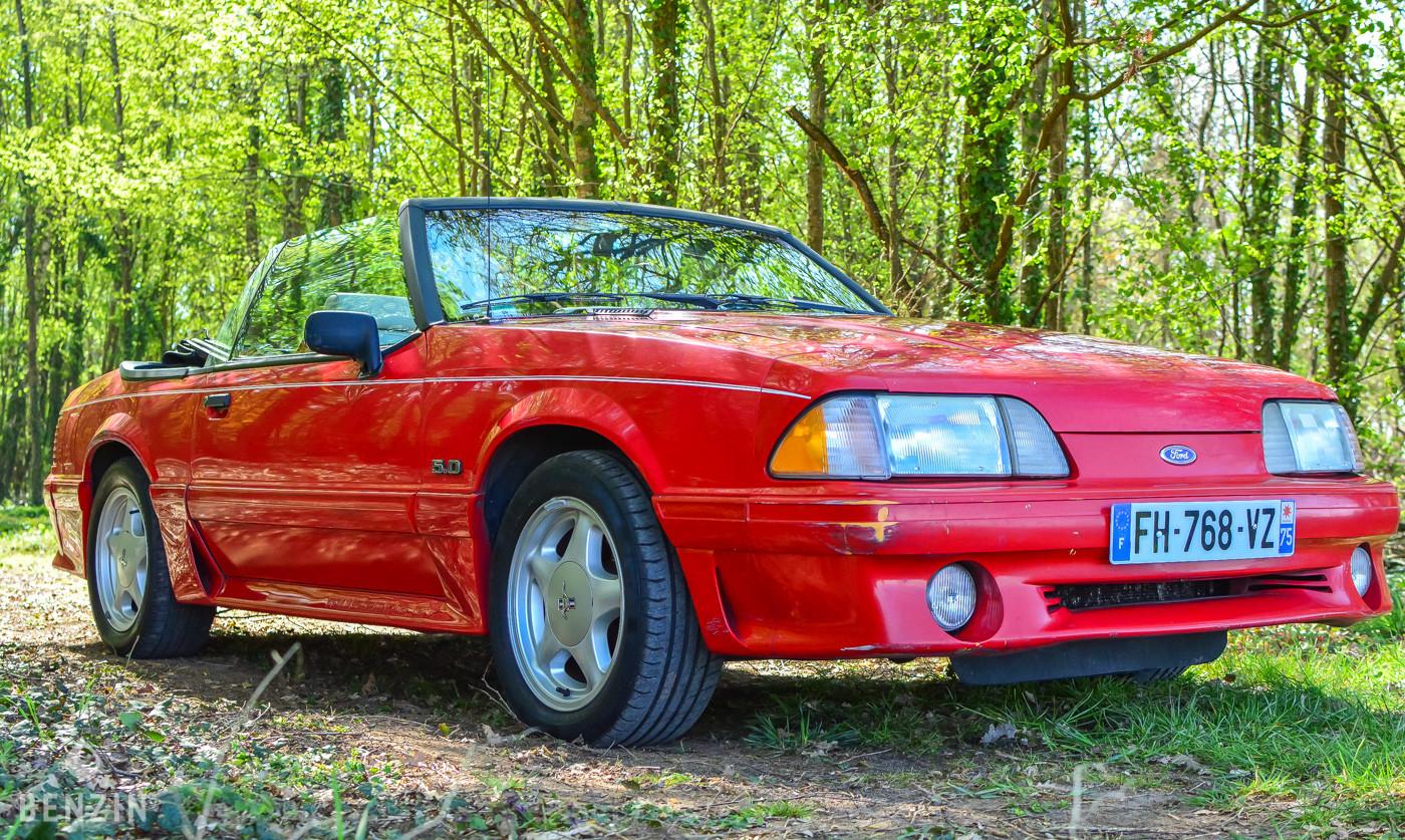 Ford Mustang cabriolet découvrable GT Fox occasion à vendre se vende for sale te koop zu verkaufen