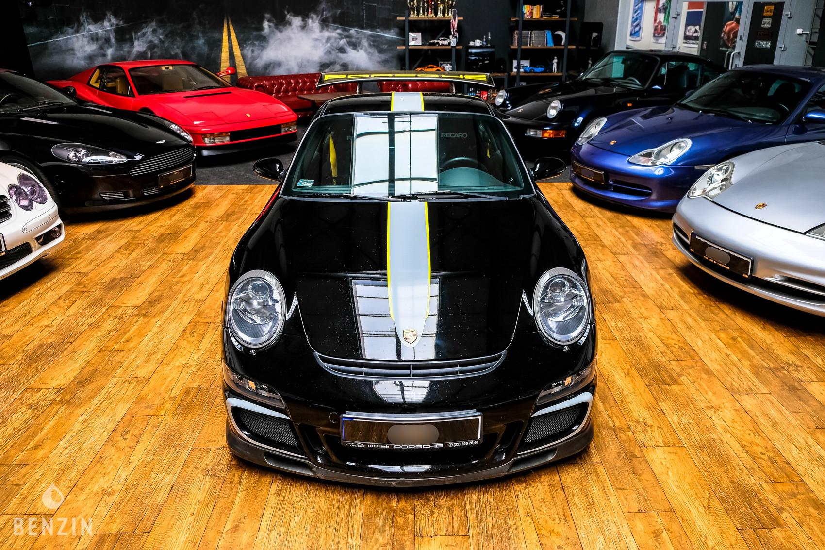 PORSCHE 911 997 GT3 PHASE 1 CLUBSPORT MG MOTORSPORT EXHAUST 2007
