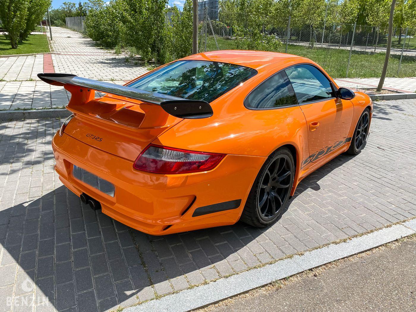 Porsche 911 Type 997 GT3 RS a vendre/ Porsche 911 Type 997 GT3 RS to sell/ Porsche 911 Type 997 GT3 RS verkaufen/ Porsche 911 Type 997 GT3 RS en venta