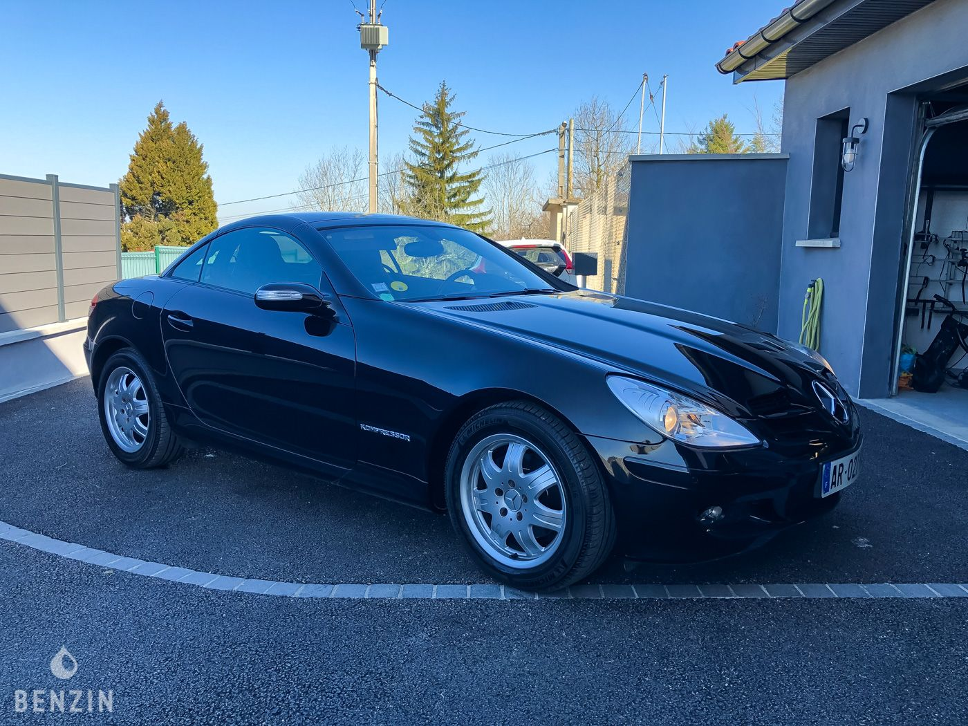 Mercedes SLK 200k occasion à vendre se vende for sale te koop zu verkaufen