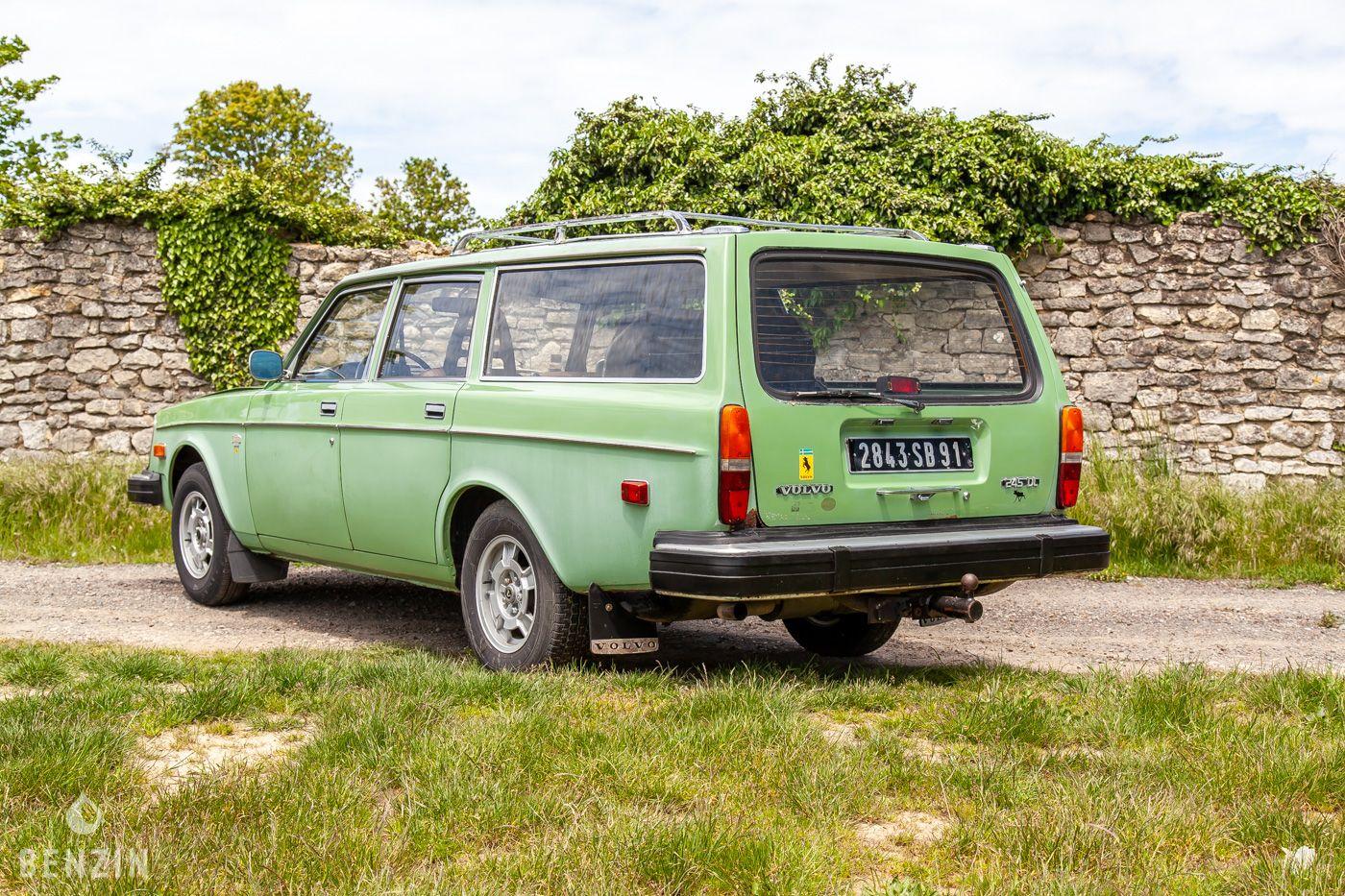 VOLVO 245 DL FOR SALE AUCTION A VENDRE ZU VERKAUFEN TE KOOP SE VENDE IN VENDITA - 1976