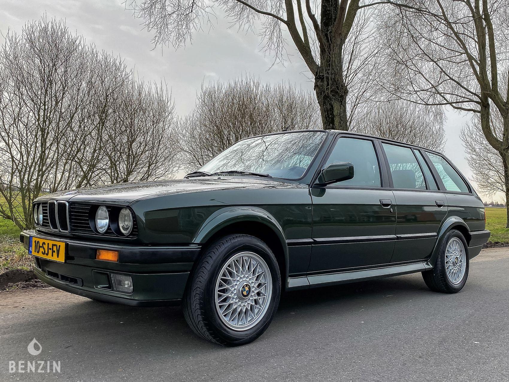 BMW 325 IX E30 TOURING OXFORD GREEN FOR SALE EN VENTE A VENDRE EN VENTA EN VENDITA TE KOOP SU VERKAUFEN