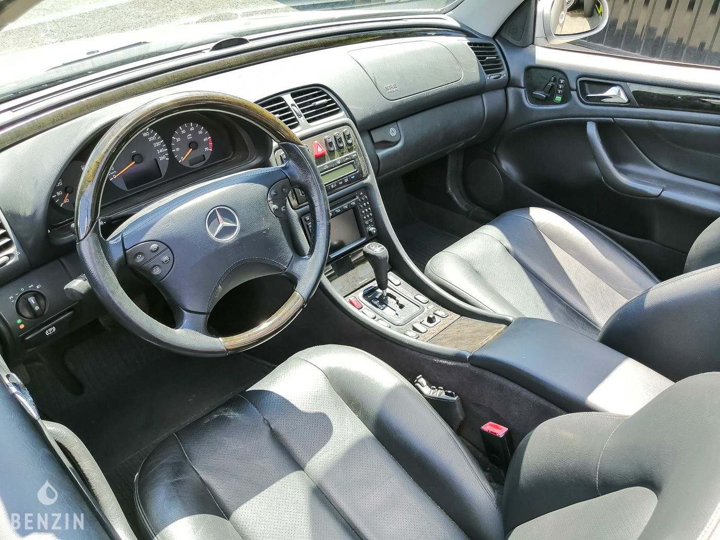 Mercedes CLK 430 cabriolet occasion à vendre se vende for sale te koop