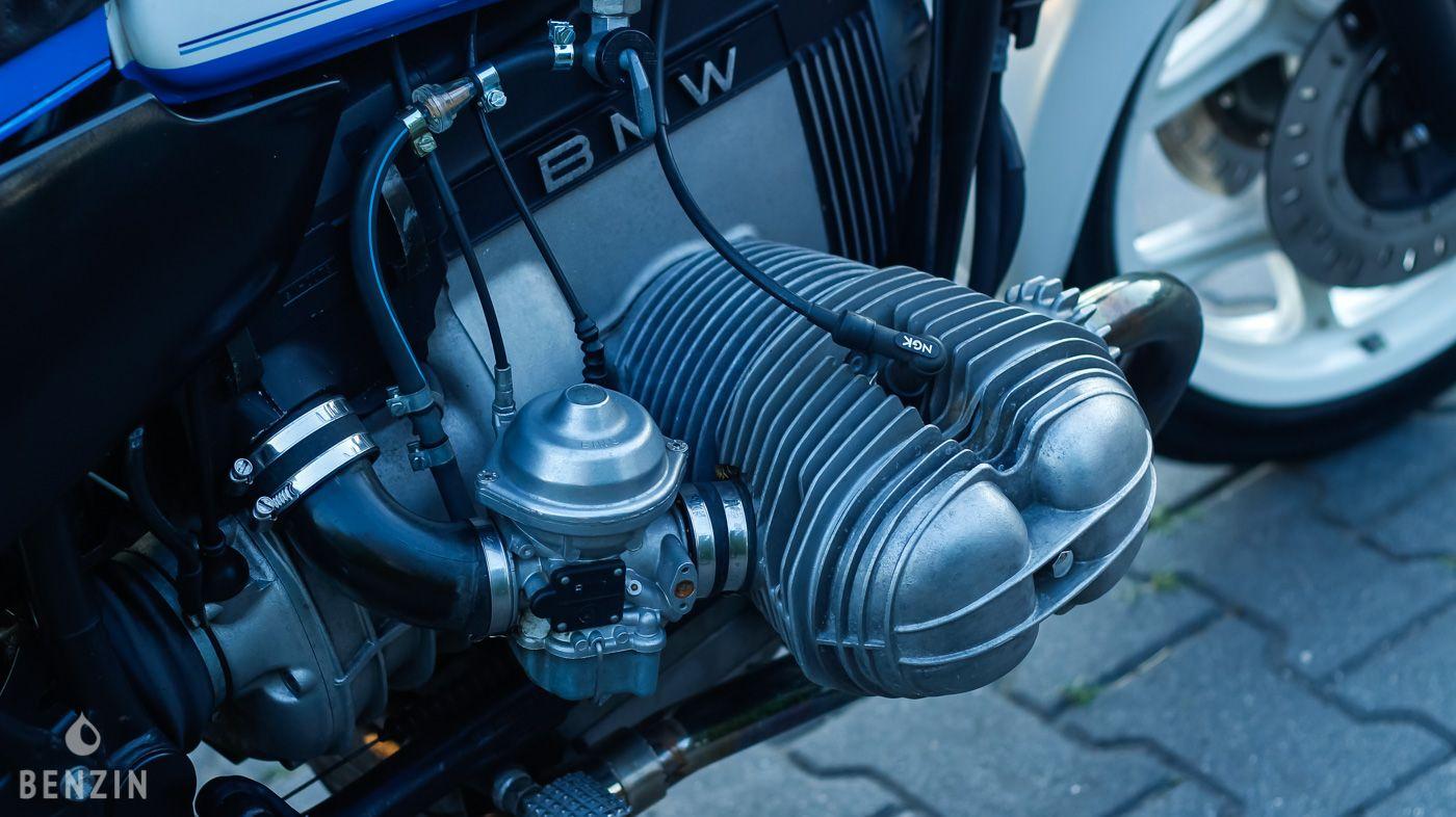 BMW R100RS OCCASION A VENDRE FOR SALE EN VENTA IN VENDITA ZU VERKAUFEN TE KOOP - 1987