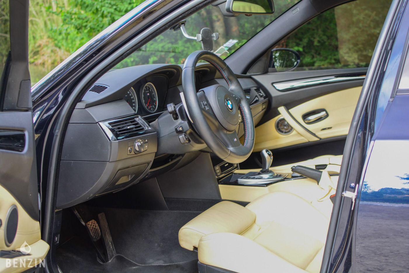 BMW M5 E60 LCI OCCASION A VENDRE FOR SALE EN VENTA IN VENDITA ZU VERKAUFEN TE KOOP - 2008