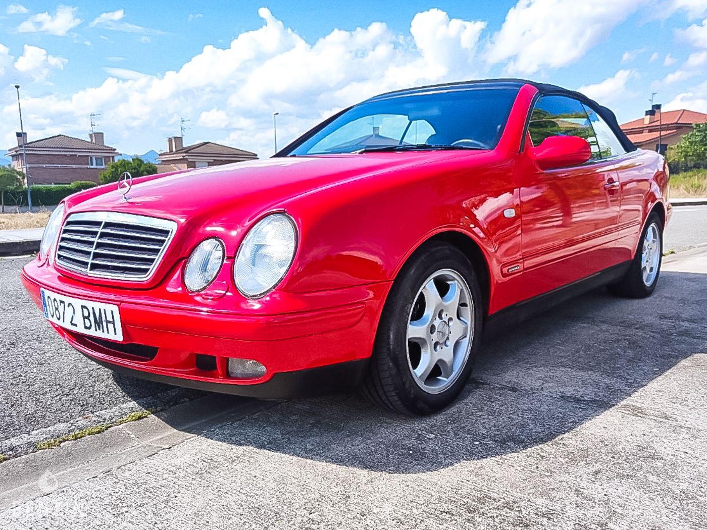 Mercedes-Benz CLK 230 K Cabriolet a vendre/ Mercedes-Benz CLK 230 K Cabriolet to sell/ Mercedes-Benz CLK 230 K Cabriolet verkaufen/ Mercedes-Benz CLK 230 K Cabriolet en venta