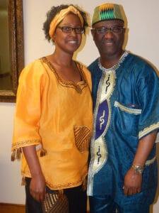 Pastor Weegar and wife