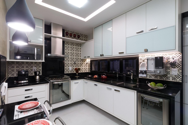 Cozinha reformada - Relato de projeto