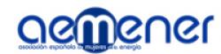 Logo: ASOCIACION ESPAÑOLA DE MUJERES DE LA ENERGIA