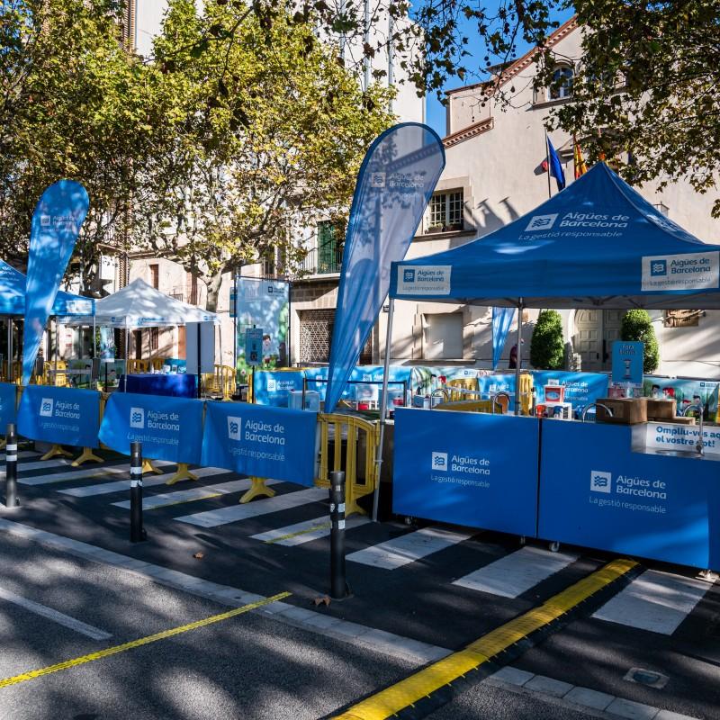 Photo: La Festa de l'Aigua a càrrec de AGBAR Aigües de Barcelona