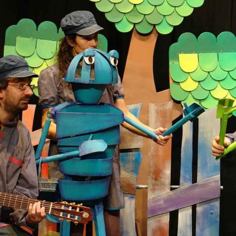 Photo: Teatre de titelles: La cigala i la formiga