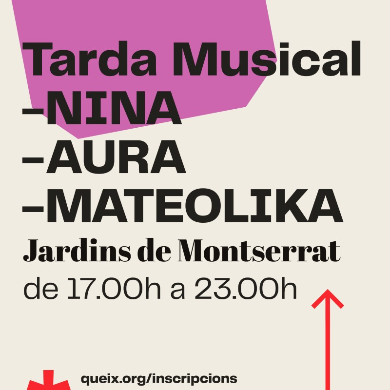 Photo: Casal de Joves Queix: Tarda Musical: NINA MOTH