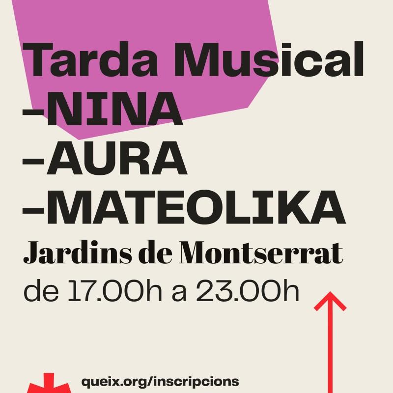 Photo: Casal de Joves Queix: Tarda Musical: AURA