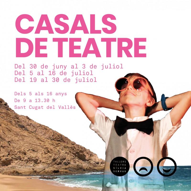Photo: Casals d'estiu (2a quinzena) dels Tallers de Teatre 2021