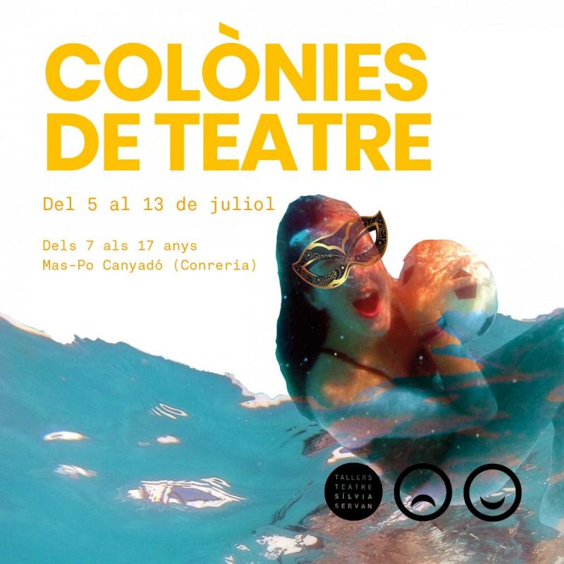 Photo: Colònies d'estiu dels Tallers de Teatre 2021