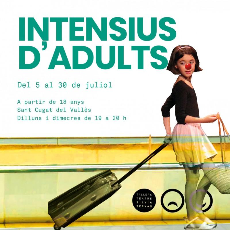 Photo: Intensius d'adults dels Tallers de Teatre 2021