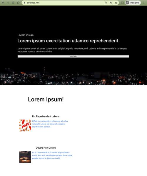 not-optimize theme screenshot