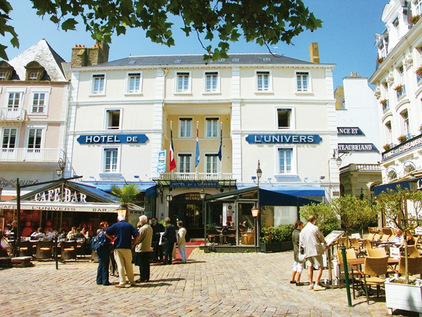 Hotel de l'Univers, St Malo