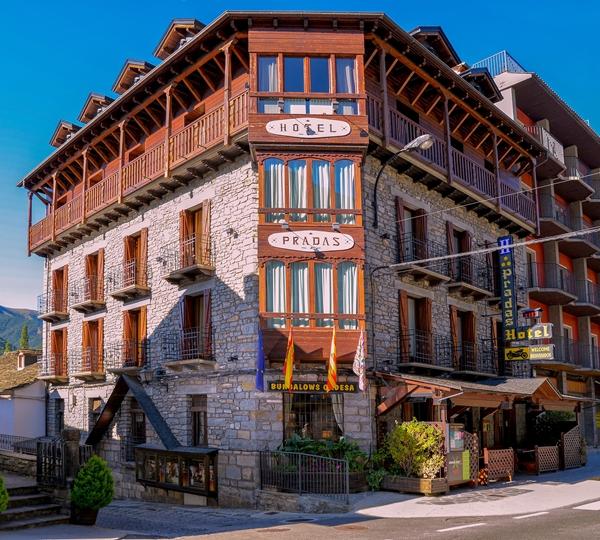 Hotel Pradas, Broto