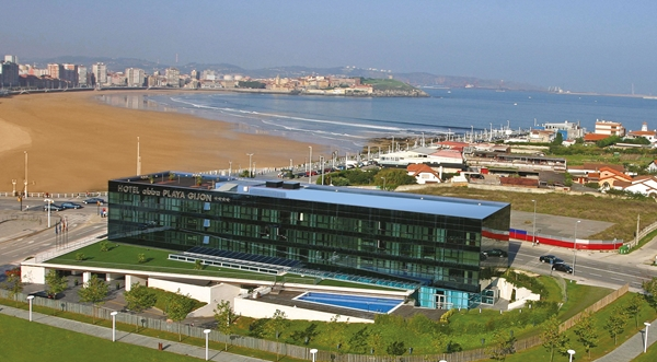 Hotel abba Playa de Gijón, Gijón
