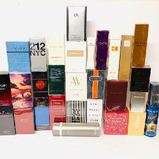 Original Perfumes & Cosmetics by Top Designers, 123 Units, New Condition, Est. Original Retail $4,355, Fresh Meadows, NY