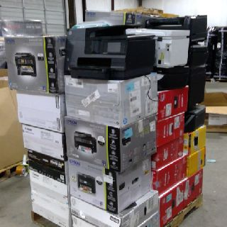 All-in-One Laser Printers by Brother, HP, Epson, Canon & More, 119 Units, Customer Returns, Est. Original Retail $13,516, Austin, TX