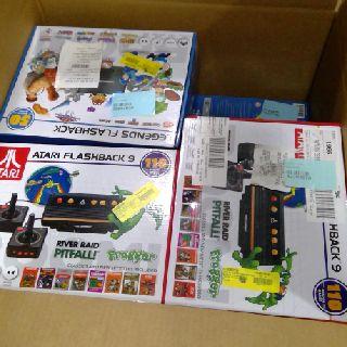 Sega Genesis & Atari Flashback Gaming Consoles, 131 Units, Customer Returns, Est. Original Retail $10,299, Austin, TX
