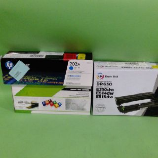 Toner Cartridges by Lexmark, Brother, HP, Canon & More, 42 Units, Customer Returns, Est. Original Retail $5,152, Austin, TX