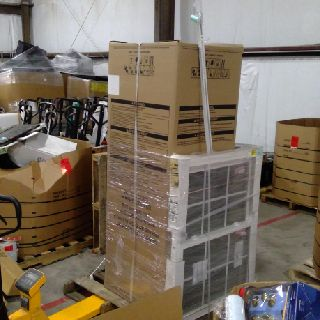 11 Pallets of Mixed Home Improvement Products & Whirlpool Washer/Dryer, 731 Units, New Condition, Est. Original Retail $30,197, Austin, TX