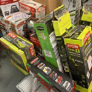 Ryobi, Rigid, Kwikset & More Tools & Home Improvements, 172 Units, Customer Returns, Est. Original Retail $9,449, Canton, OH