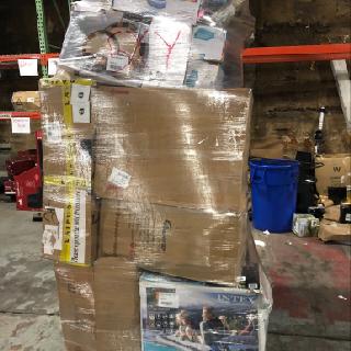 6 General Merchandise Pallets from Intex, PAW, Summer Waves & More, 183 Units, Customer Returns, Est. Original Retail $24,490, Lincoln, NE, XY6