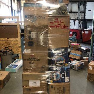 4 Inflatable Pallets from Airhead, Banzai, Bestway, Kahuna, Sea Eagle & More, 140 Units, Customer Returns, Est. Original Retail $43,936, Lincoln, NE