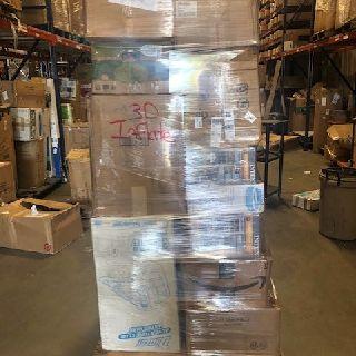 4 Inflatable Pallets from Airhead, Banzai, Bestway, Kahuna, Swimline & More, 122 Units, Customer Returns, Est. Original Retail $52,917, Lincoln, NE