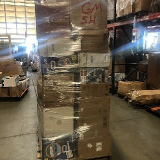 6 General Pallets by Grohe, Husqvarna, Little Giant, Monster, Quick-Set & More, 155 Units, Customer Returns, Est. Original Retail $20,322, Lincoln, NE