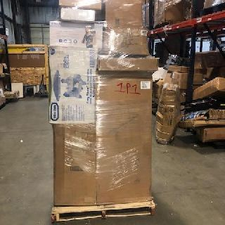 6 General Pallets from Lancaster, Little Giant, Monarch, Quick-Set & More, 125 Units, Customer Returns, Est. Original Retail $18,450, Lincoln, NE