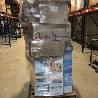 6 General Pallets from Airhead, Aquabot, Little Giant, Polaris, Razor & More, 123 Units, Customer Returns, Est. Original Retail $19,417, Lincoln, NE