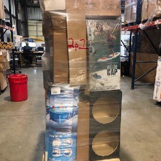 6 General Pallets from Baby Trend, Clam, Husqvarna, Lucky Dog, Pentair & More, 129 Units, Customer Returns, Est. Original Retail $21,766, Lincoln, NE