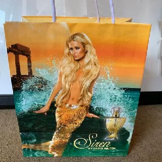 Gift Bags, Paris Hilton Siren Perfume Printed on Laminated Paper, 2,100 Units, New Condition, Est. Original Retail $6,279, New Hyde Park, NY