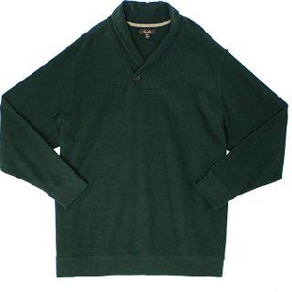 Tasso Elba Nocturnal Green Men's Shawl-Collar Sweaters, 100% Cotton, 60 Units, New Condition, Est. Original Retail $4,500, Chino, CA