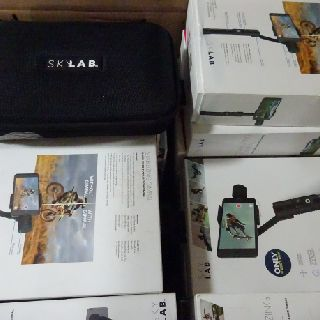 Skylab 3-Axis Gimbal Stabilizers for Mobile Phones & GoPro Models, 303 Units, Customer Returns, Est. Original Retail $73,547, Eau Claire, WI