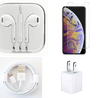 Generic Wall Chargers, USB Cables, Headphones & Tempered Glass for iPhones, 800 Units, New Condition, Est. Original Retail $11,592, Queens, NY