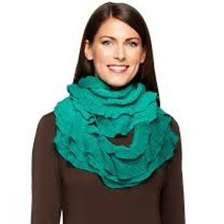 Amiee Lynn Ombre Ruffle Infinity Scarves in Two Colors, In Manufacturer's Packaging, 300 Units, New Condition, Est. Original Retail $8,325, Mesa, AZ