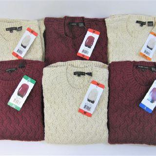 Jeanne Pierre Women's Crew Neck Sweaters in Original Packaging, 72 Units, New Condition, Est. Original Retail $4,680, Mesa, AZ, FREE SHIPPING