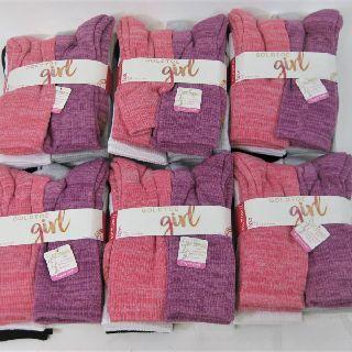 Girls Gold Toe Socks, 6 Pair Ultra Tec Crew Socks, 128 Packs, New Condition, Est. Original Retail $1,792, Mesa, AZ