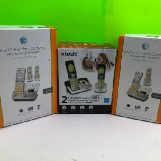 Mixed DECT6.0 Home Phones by VTech & AT&T, 51 Units, Refurbished Condition, Est. Original Retail $3,280, Elgin, IL