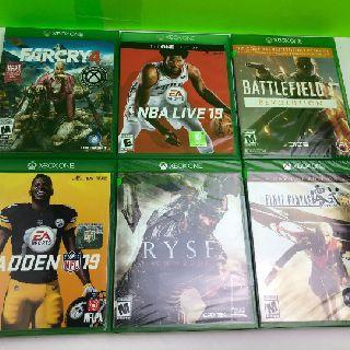 Microsoft Xbox One Video Games, 54 Units, Shelf Pulls, Est. Original Retail $3,240, Elgin, IL