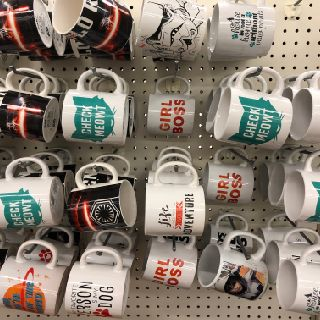 Ceramic Mugs with Inspirational Sayings, 161 Units, New Condition, Est. Original Retail $4,025, Elgin, IL